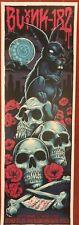 Blink 182 concert gig poster print Irvine 9-29-16 2016 Brandon Heart