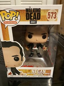 Funko Pop! Television AMC  The walking Dead NEGAN (Bloody) #573
