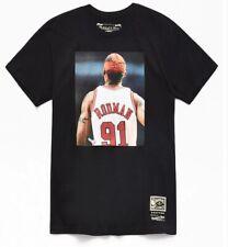 Dennis Rodman Chicago Bulls Mitchell & Ness NBA T-Shirt The Last Dance Back