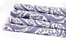 10 Yard Cotton Natural Running Fabric Beautiful Sanganeri Hand Block print India