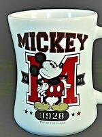MICKEY MOUSE  TOP OF THE CLASS 1928  COFFEE TEA MUG COLORFUL DISNEY AUTHENTIC