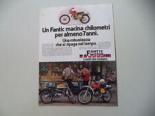 advertising Pubblicità 1978 MOTO FANTIC CABALERO CASA TX-190 50