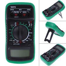 Digital LCD Multimeter Voltmeter Amperemeter AC/DC/OHM Volt Tester Test akt