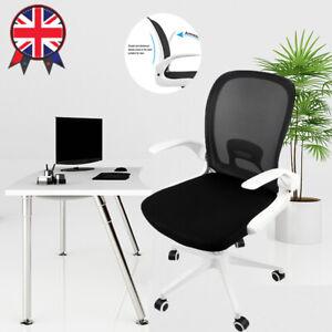 Office Chair Executive Swivel Racing Computer Desk Chair Ergonomic Adjustable UK