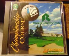 Links Championship Course: Riviera Country Club (PC, 1995)