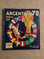 album panini argentina 78 complet world cup 1978 full.