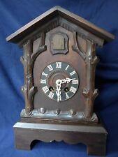 TISCH Kuckucksuhr Pendule / Cuckoo Clock von SEHR GUTER Qualität m. VIDEO Selten