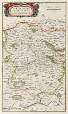 Reproduction carte ancienne - Comté de Perche 1663