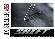 Self Bending Paper Clip Close up Magic Trick Mentalism PK Shift- Watch Demo