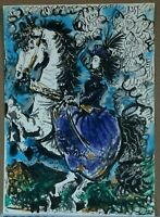 Certified Lithograph Pablo Picasso - (Jacqueline) Royal on Horse ( (359M)