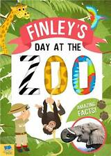 Personalised Childrens Book Day At The Zoo  Educational Fun Childrens Story Book
