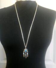 Modeschmuck-Halsketten & -Anhänger aus Stein Türkis