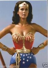 * 5 x 7 Inch * Linda Carter Color Photo   -- Wonder Woman  --