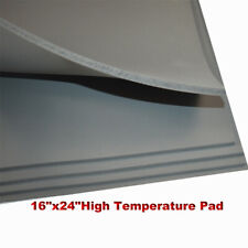 Heat Press Replacement High Temperature Pad 16x24 Gray 031 Silicone Pad