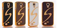 Samsung Galaxy S4 i-9500 Handyhülle Hülle Case Cover  Schutzhülle Schale Gold