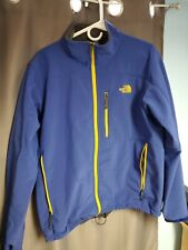 The North Face Jacket Mens Large Blue/Yellow Combo Windbreaker