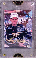 TRADING CARD ~ RUSTY WALLACE ~ 24K GOLD SIGNATURE ~ 1994 PRESS PASS