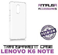 COVER TRASPARENTE LENOVO K6 NOTE K53a48 CUSTODIA PROTEZIONE TPU TRANSPARENT CASE