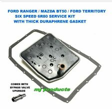 FORD RANGER AND BT50 6R80 TRANSMISSION SERVICE KIT WITH THERMAL BYPASS VALVE