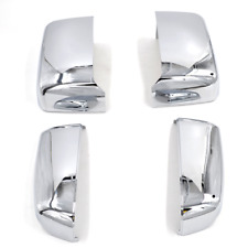 For 14-19 Chevy Silverado GMC Sierra Chrome Tow Mirror Cap Cover Replacement NEW