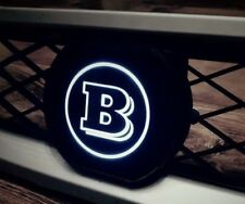 Great Brabus logo with LED backlight on the grill Smart ForTwo 451 '2007 - 2012