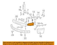 GM OEM FRONT BUMPER-Side Extension Left 22737638