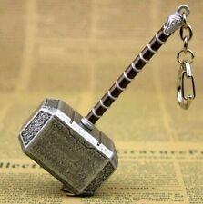 FD2604  The Avengers Thor Hammer Metal Keychain Key Chain Keyring 10cm