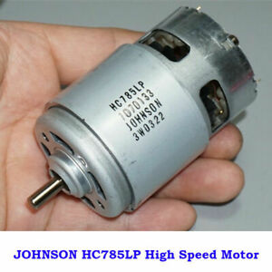 JOHNSON RS-775 Electric Motor DC 12V-18V 19000RPM High Speed Power Large Torque
