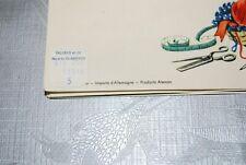 C154 Ancien necessaire de couture - importe d'Allemagne 1960 70