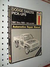 1993 dodge dakota service manual