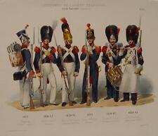 Napoléon garde célèbrer EMPIRE CHASSEUR voltigeur sapeur-raupenhelm