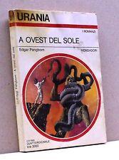 A OVEST DEL SOLE - E. Pangborn [Libro, Urania]