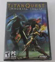 Titan Quest: Immortal Throne (PC, 2007)