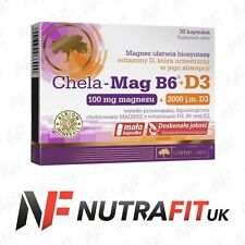 OLIMP CHELA MAG B6+D3 magnesium vitamin B6 D3 K2 healthy bones teeth 30 caps