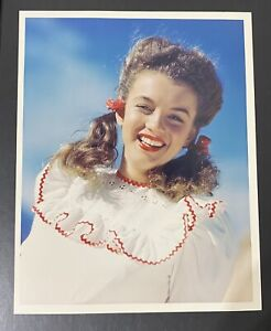 1945 Marilyn Monroe Andre De Dienes Stamp Original Photo Norma Jeane