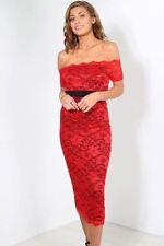 Vestiti da donna floreale rosso taglia M