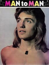 MAN TO MAN #1 1974 / GAY INTEREST, VINTAGE, BEEFCAKE / RARE BRITISH MAGAZINE