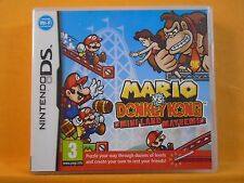 *ds MARIO VS DONKEY KONG Mini-Land Mayhem (NI) Lite DSi 3DS PAL REGION FREE