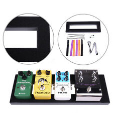 15.6 * 5 inch Mini Guitar Effects Pedalboard Pedal Board Glued Loop + Setup Kits