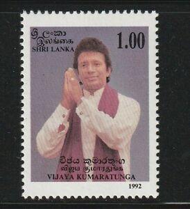 Sri Lanka 1992 Vijaya Kumaratunga 1v MNH