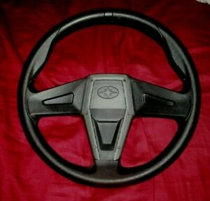New Polaris RZR 1000 Steering Wheel Black with Grey Trim