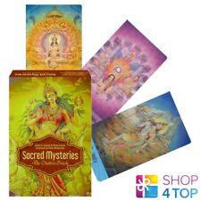 Heilig Mysteries die Chakra Orakel Karten Deck Buch Set schiffer publishing Neu