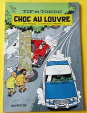 TIF ET TONDU CHOC AU LOUVRE ROSY WILL DUPUIS EO 1966 SUPERBE ETAT