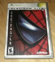 SPIDER-MAN PLATINUM HITS - XBOX - COMPLETE WITH MANUAL - FREE S/H - (T)