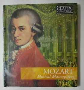 Mozart Musical Masterpieces Classical Masterpieces Music CD New and Sealed