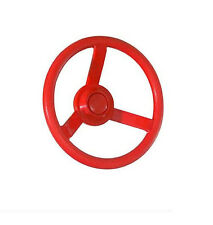 Captains Playset STEERING WHEEL playground Swingset Swing DELUXE Accessories RED