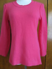 Aqua Women's Pink Cashmere Sweater Size Small NWT