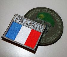 FRENCH FOREIGN LEGION Opération Pamir Légion étrangère Green Beret + Flag Set