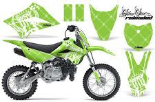 Dirt Bike Decal Graphic Kit Wrap For Kawasaki KLX110L KLX 110L 10-18 RELOAD W G