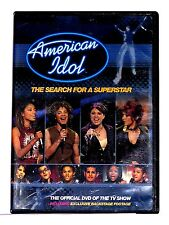DVD VIDEO Documentary AMERICAN IDOL THE SEARCH FOR A SUPERSTAR
